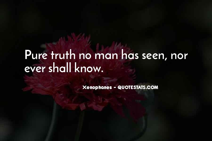 Xenophanes Quotes #1383919