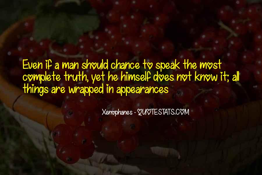 Xenophanes Quotes #1448496