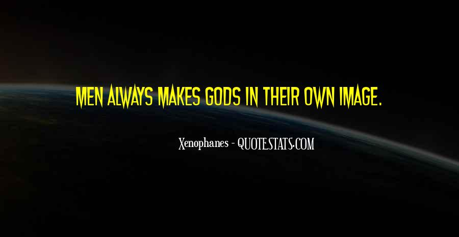 Xenophanes Quotes #218636