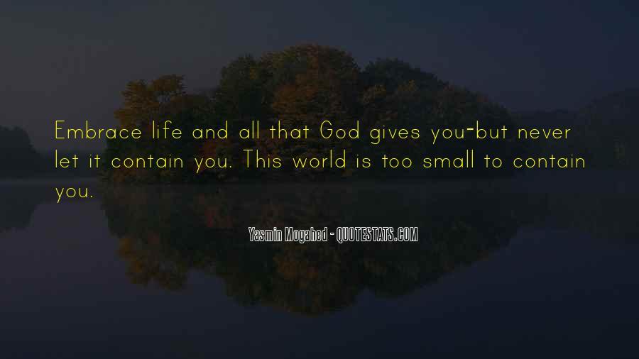 Yasmin Mogahed Quotes #448471