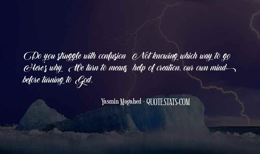 Yasmin Mogahed Quotes #861430