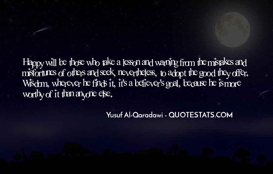 Yusuf Al Qaradawi Quotes #200895