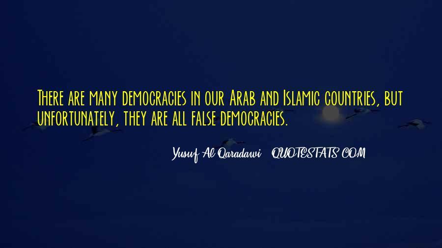 Yusuf Al Qaradawi Quotes #68678