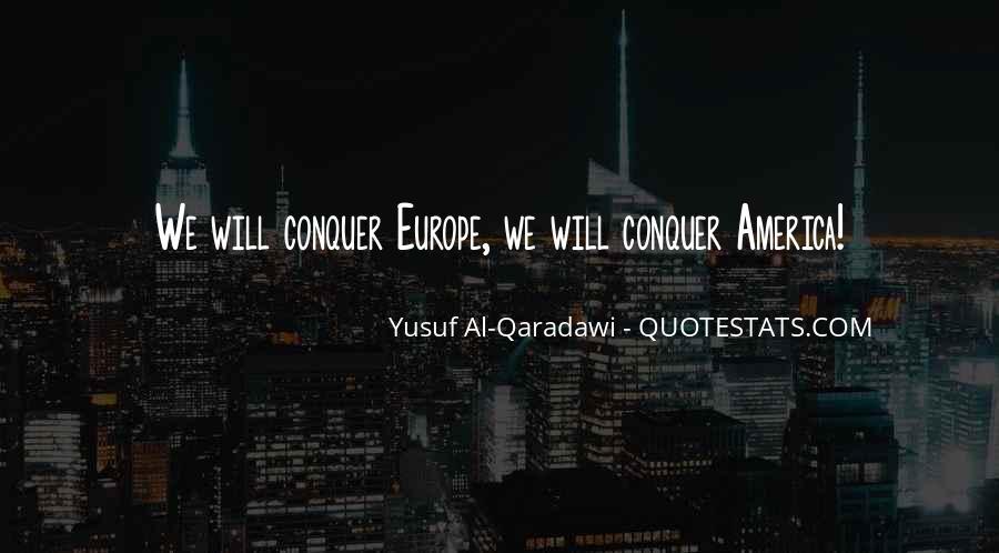 Yusuf Al Qaradawi Quotes #982347