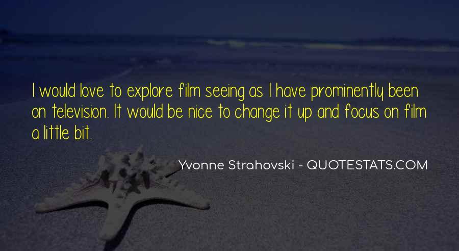 Yvonne Strahovski Quotes #1589433