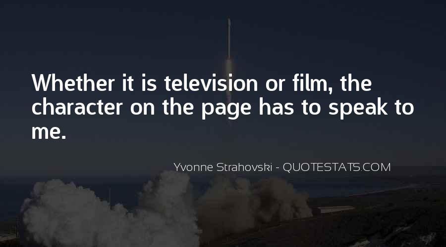 Yvonne Strahovski Quotes #220096
