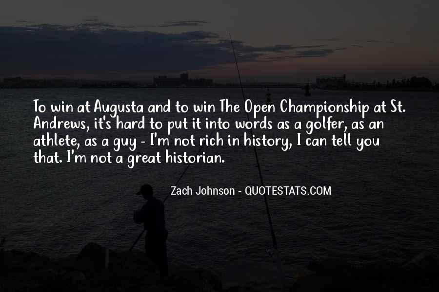Zach Johnson Quotes #1174260