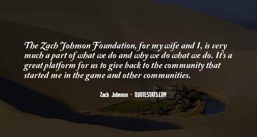 Zach Johnson Quotes #1196388