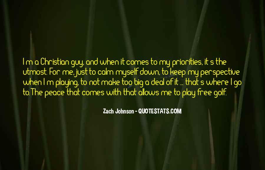 Zach Johnson Quotes #1201955