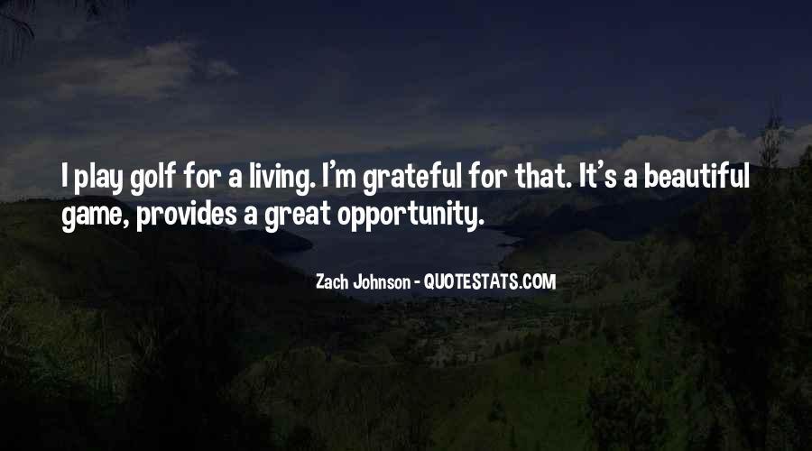 Zach Johnson Quotes #1331094