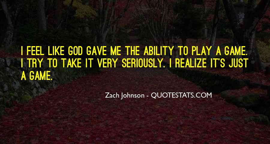 Zach Johnson Quotes #1873553