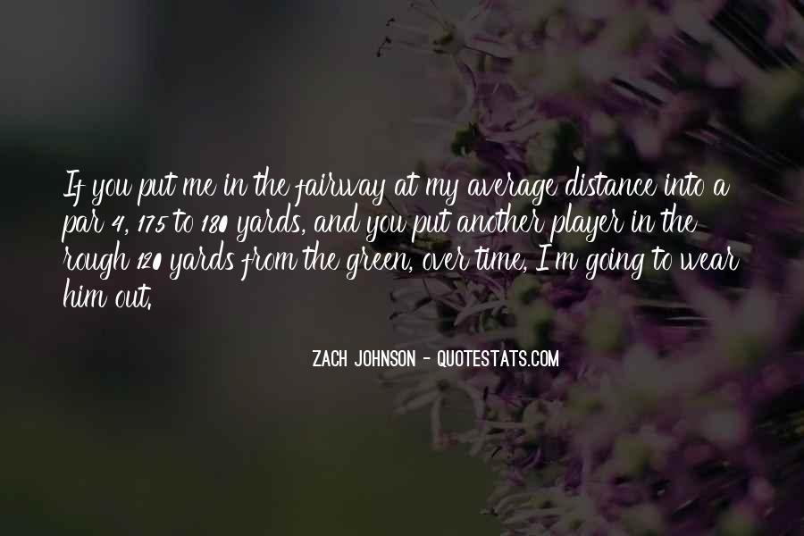 Zach Johnson Quotes #66750