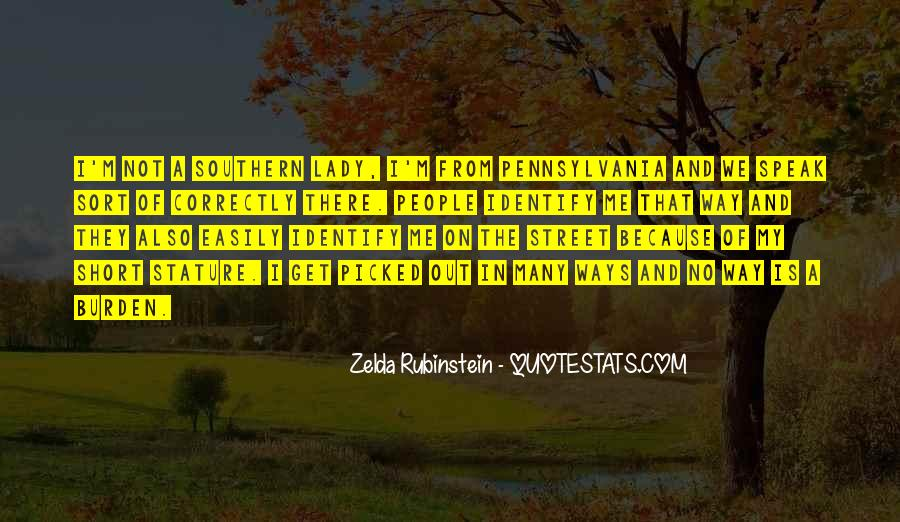 Zelda Rubinstein Quotes #418529