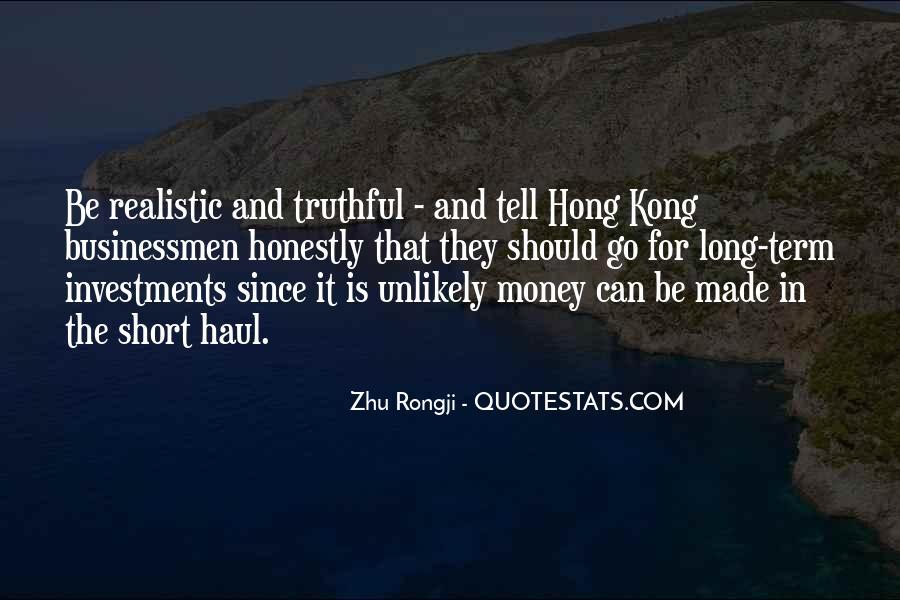 Zhu Rongji Quotes #1206460