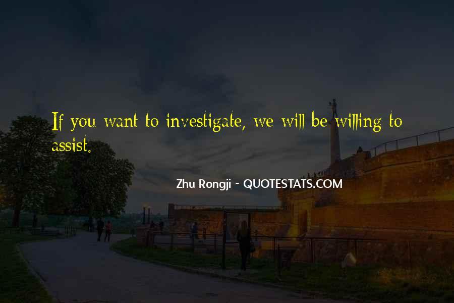 Zhu Rongji Quotes #30241