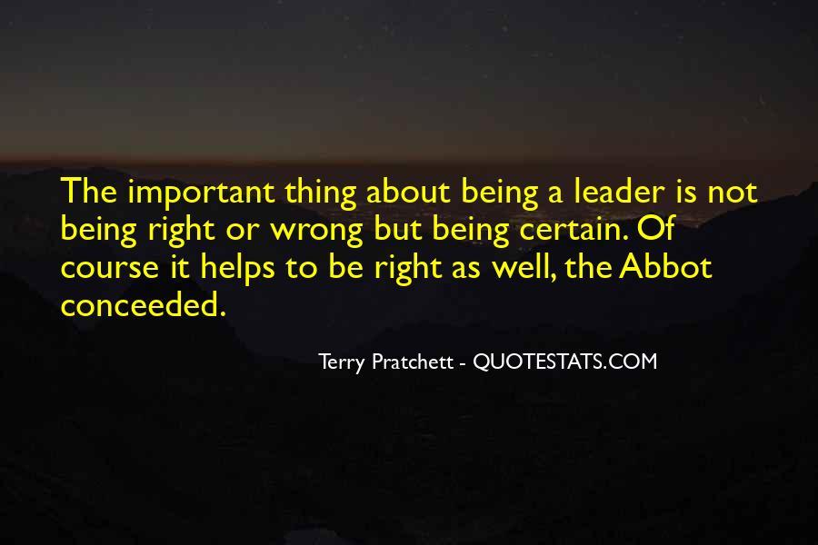 Abbot's Quotes #1690184