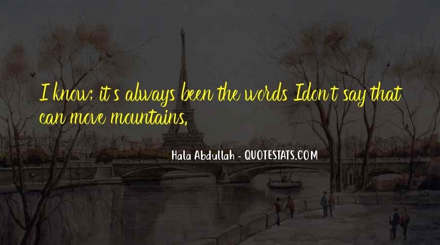 Abdullah's Quotes #1070029
