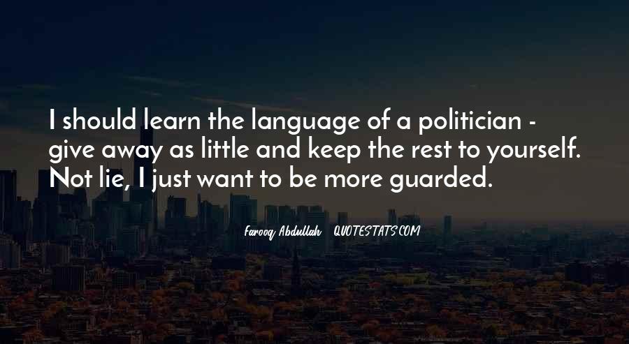 Abdullah's Quotes #1085852
