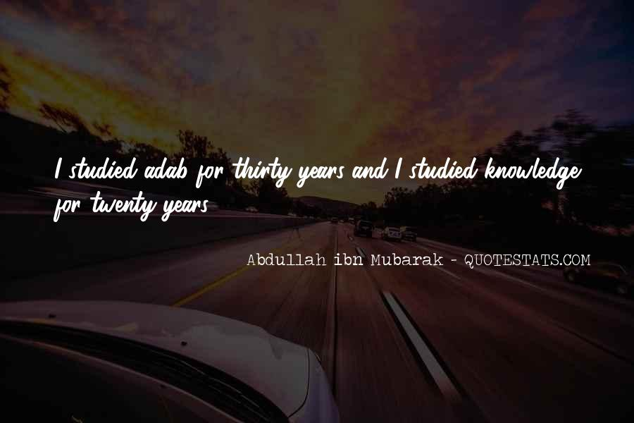Abdullah's Quotes #117498