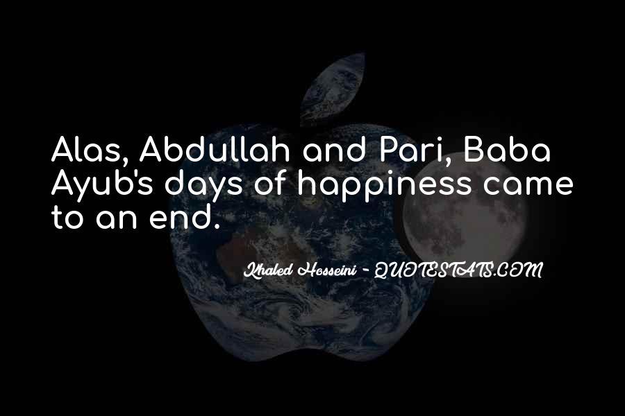 Abdullah's Quotes #1628294