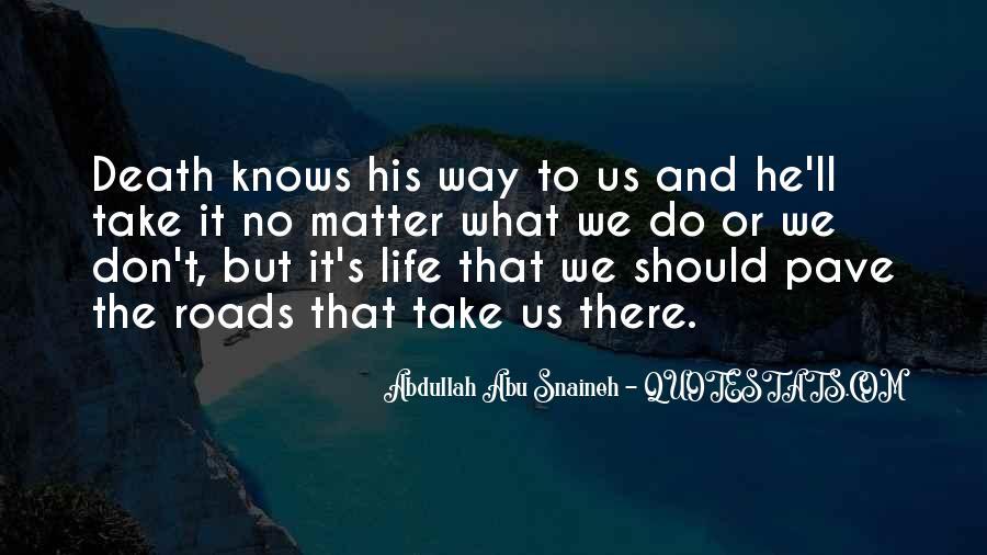 Abdullah's Quotes #1669182