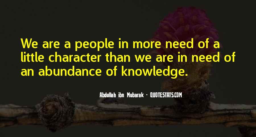 Abdullah's Quotes #203675