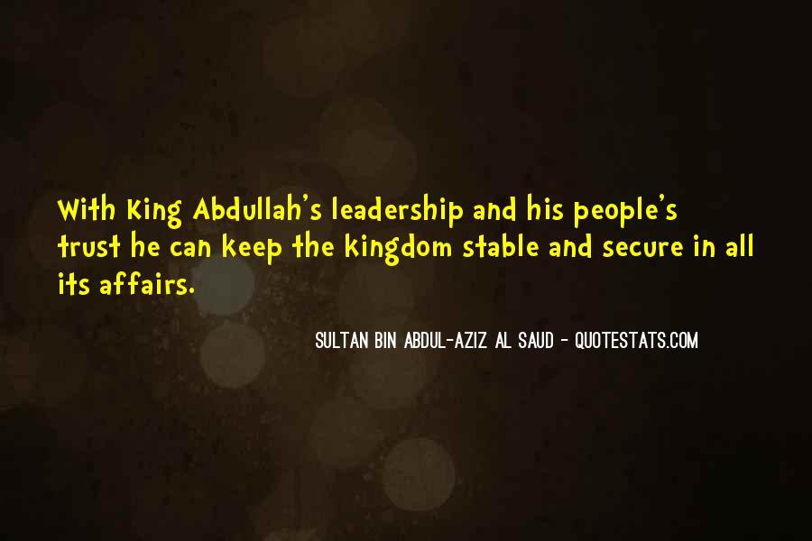 Abdullah's Quotes #32487
