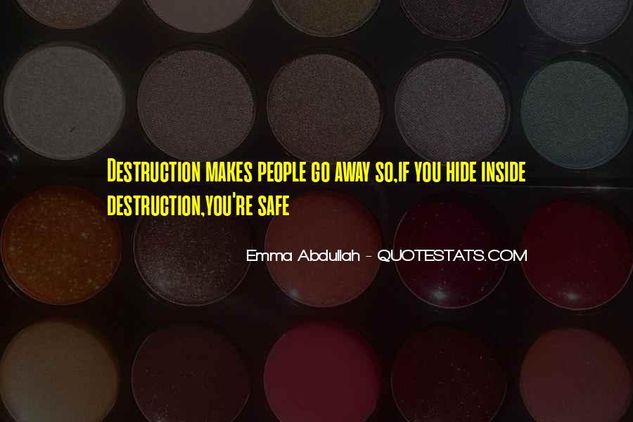 Abdullah's Quotes #519843