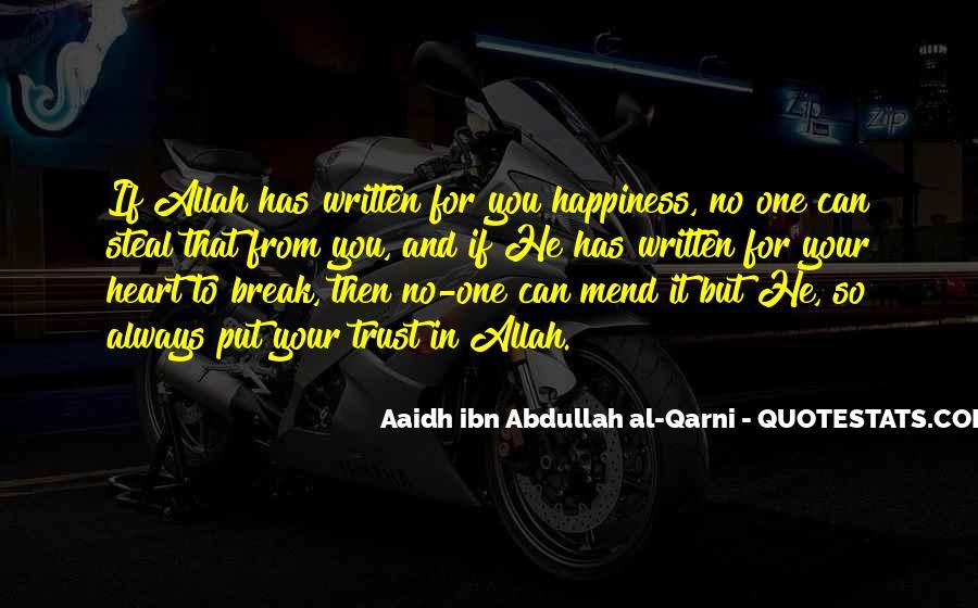 Abdullah's Quotes #549641