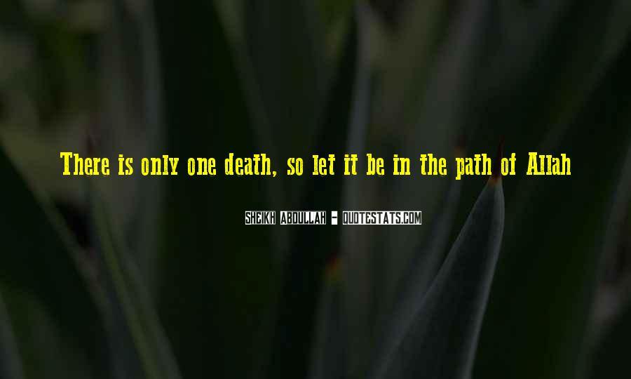 Abdullah's Quotes #590965