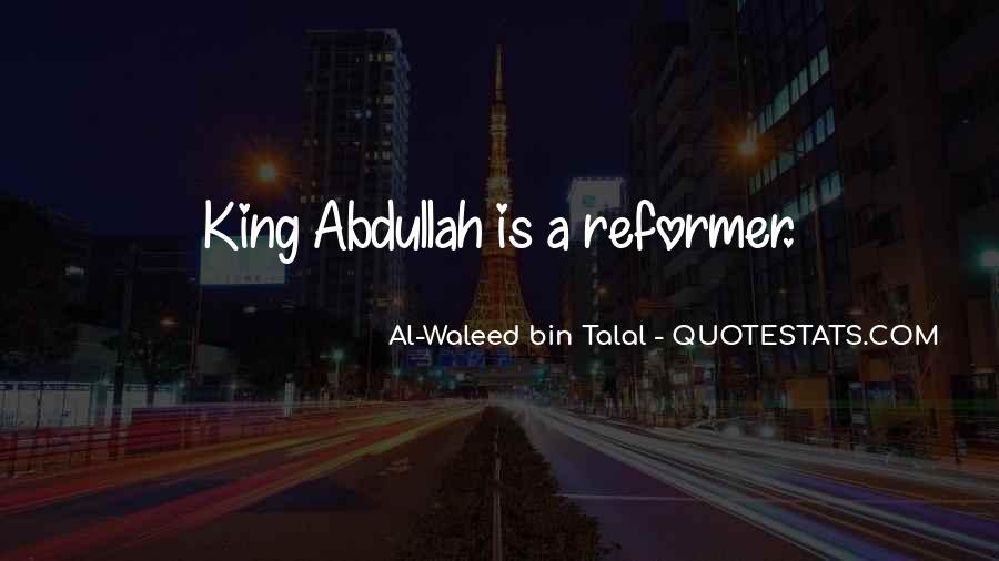 Abdullah's Quotes #613774