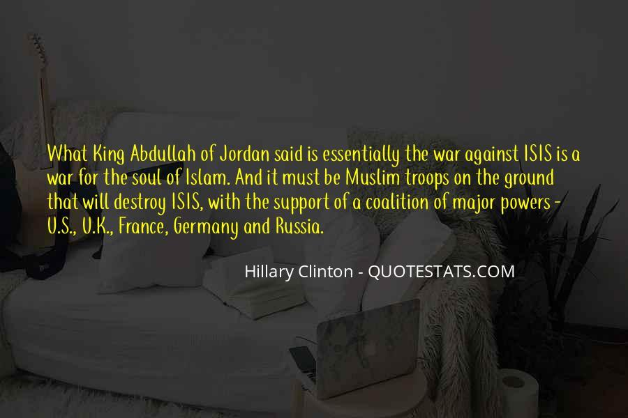 Abdullah's Quotes #801275
