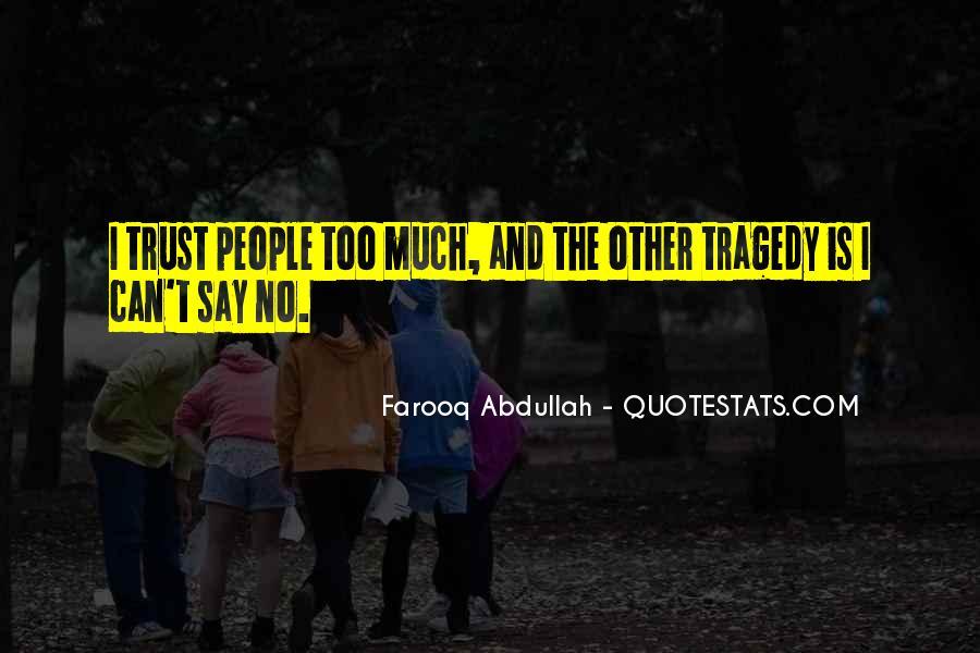 Abdullah's Quotes #85881