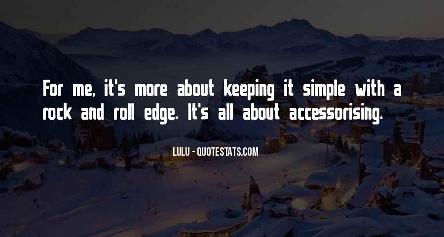 Accessorising Quotes #1086625