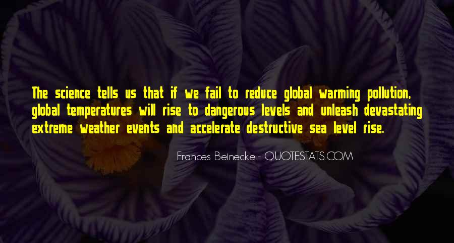 Quotes About Pollution Global Warming #1126938