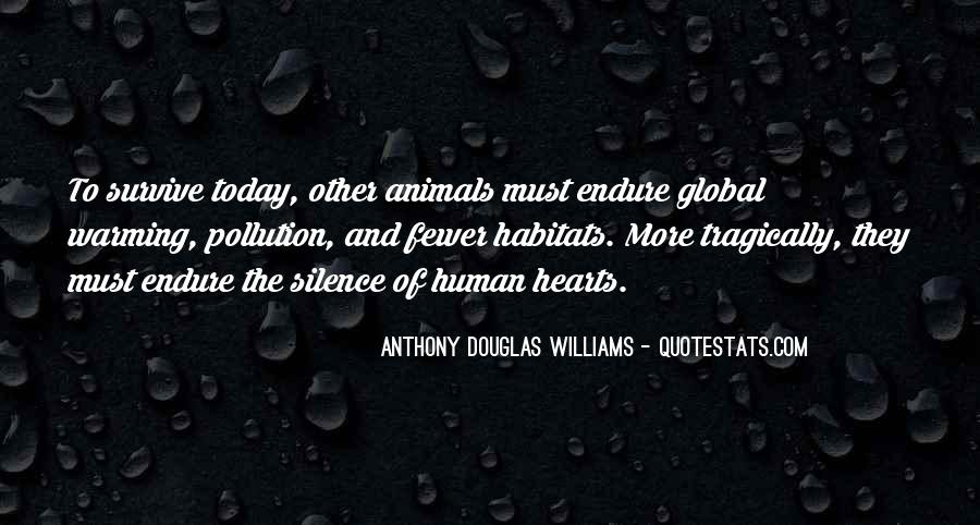 Quotes About Pollution Global Warming #1141907