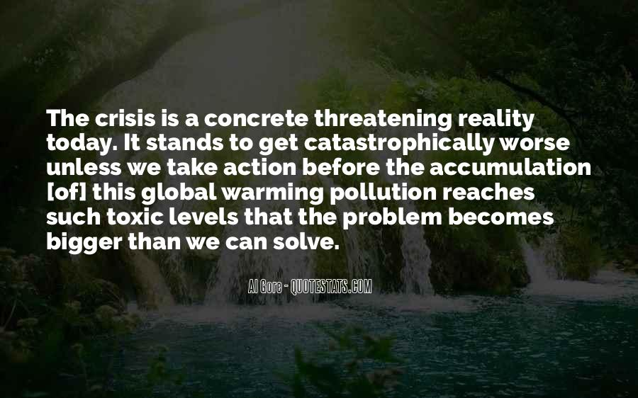 Quotes About Pollution Global Warming #1623533