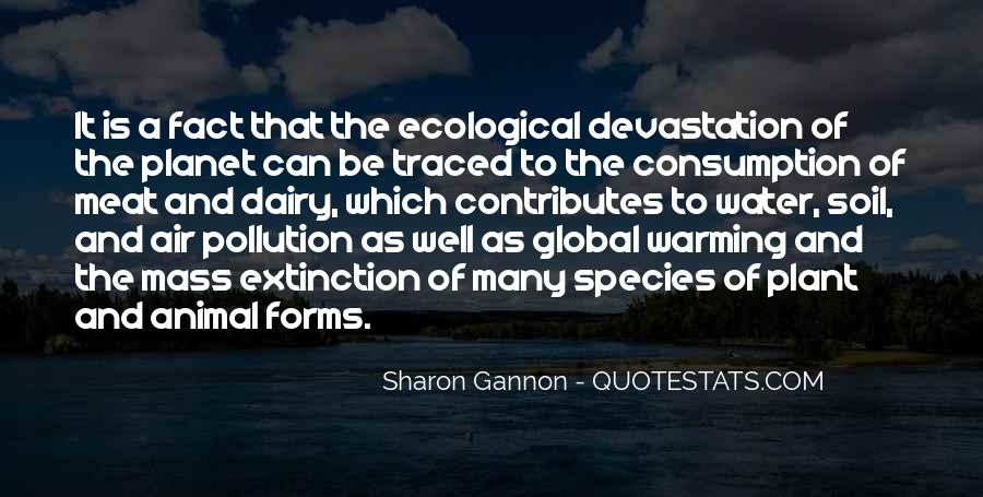 Quotes About Pollution Global Warming #307175