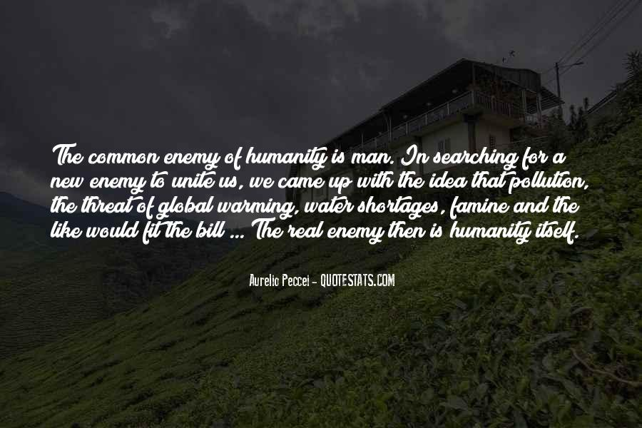 Quotes About Pollution Global Warming #32727