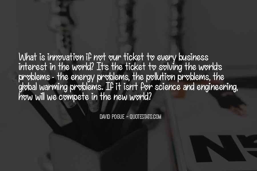 Quotes About Pollution Global Warming #371475
