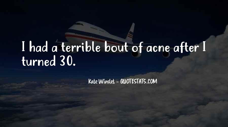 Acne's Quotes #1871972