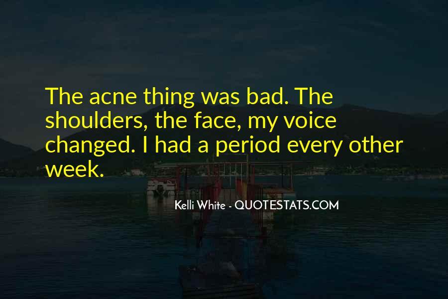 Acne's Quotes #549005