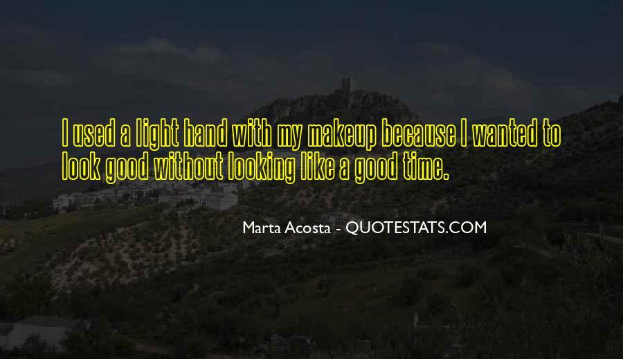 Acosta Quotes #1315889