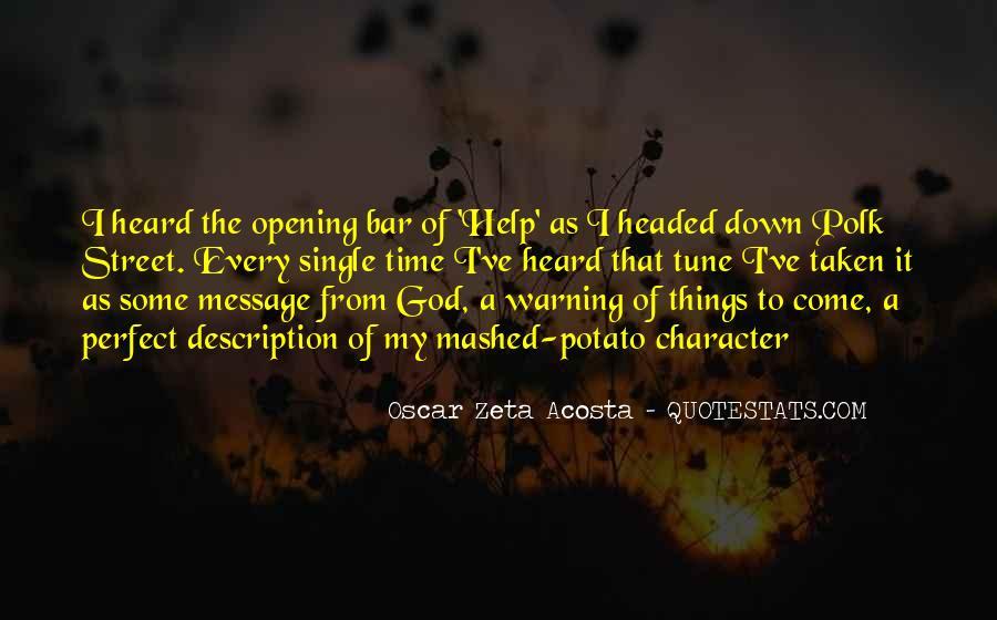 Acosta Quotes #1623583