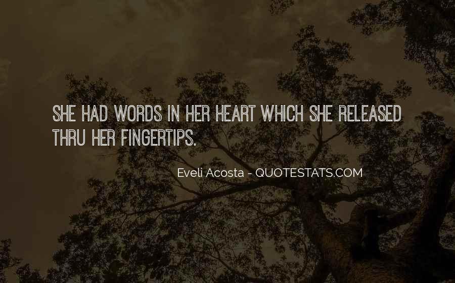Acosta Quotes #646018