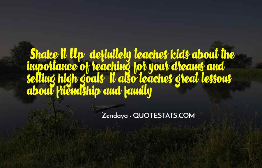 Quotes About Setting Goals Too High #246240