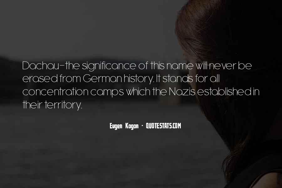 Quotes About The Significance Of History #1412824