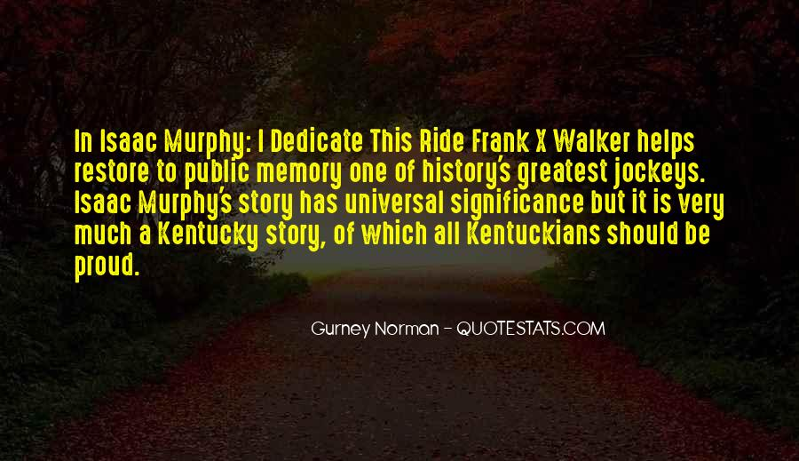 Quotes About The Significance Of History #1689627