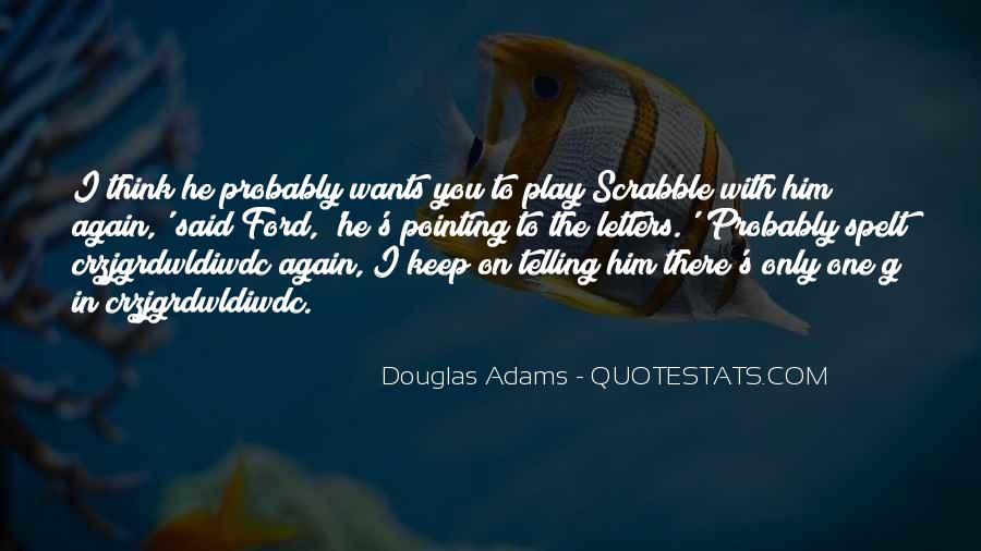 Adams's Quotes #111743