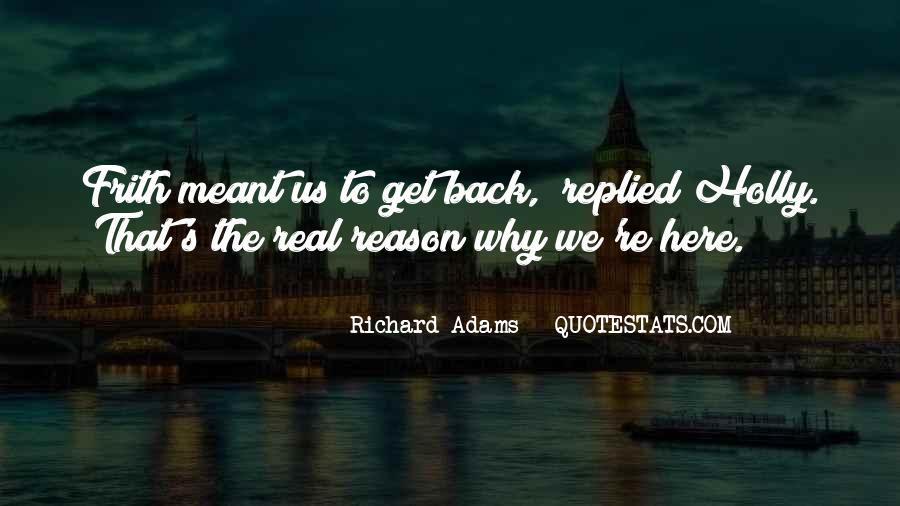 Adams's Quotes #17177